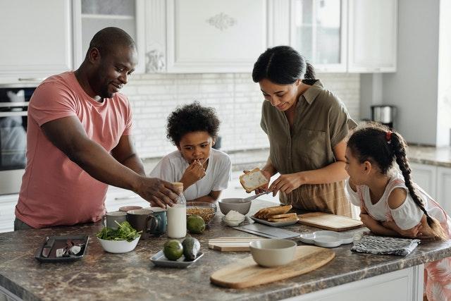 Koken met het gezin