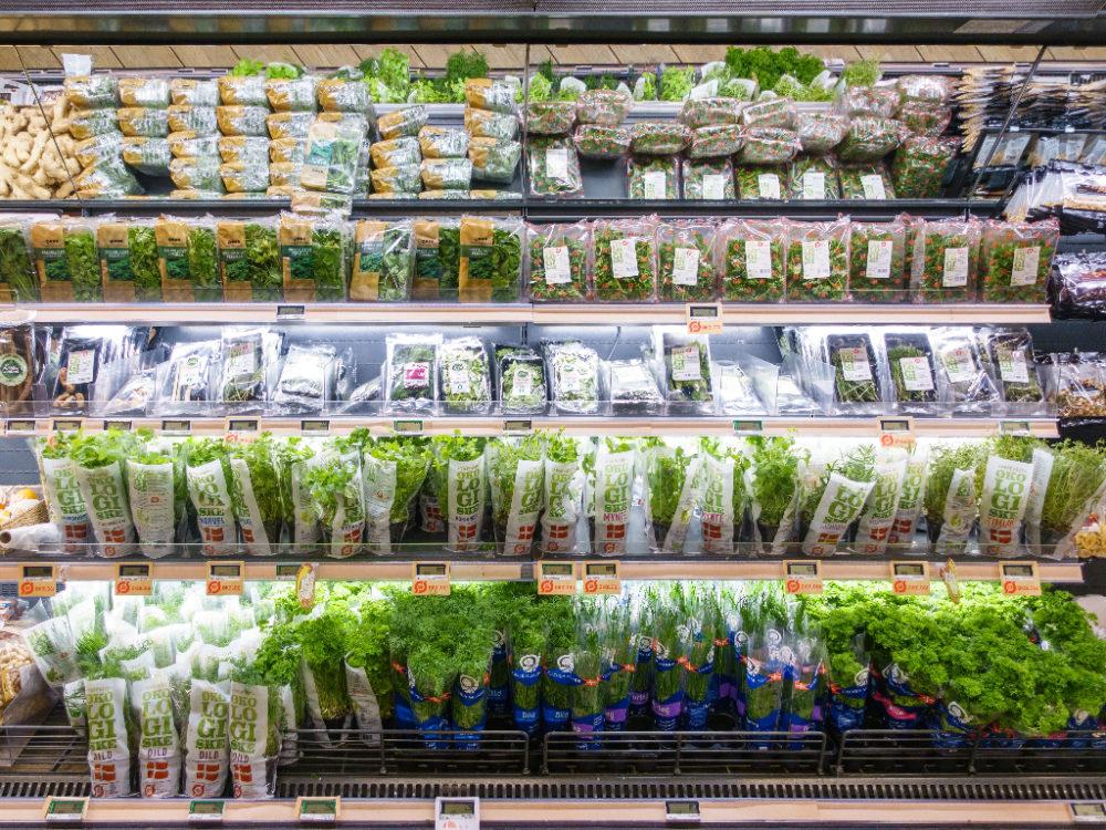 Een online supermarkt voor de boodschappen